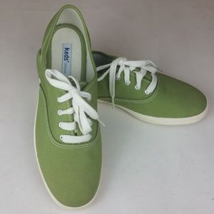 Keds Classic Canvas Moss Green Sneakers 8